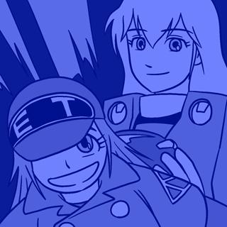 フーケ&ミント(機甲創世記モスピーダ)