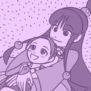 綾里真宵&綾里春美(逆転裁判)